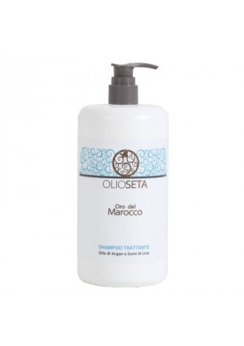 Питательный шампунь с маслом арганы и маслом семян льна (Olioseta Oro Del Morocco / Nourishing Shampoo) 130001 750 мл