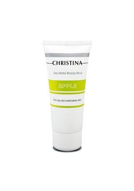 Яблочная маска красоты для жирной и комбинированной кожи (Masks / Sea Herbal Beauty Mask Green Apple) CHR058 60 мл