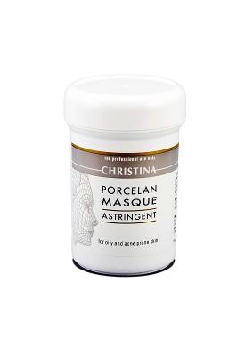 Поросуживающая маска Порцелан для жирной и проблемной кожи (Masks / Porcelan Astrigent Porcelan Mask) CHR073 250 мл