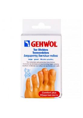 Гель-корректоры между пальцев, большие (Comfort / Toe Dividers) 1*26810 3 шт.