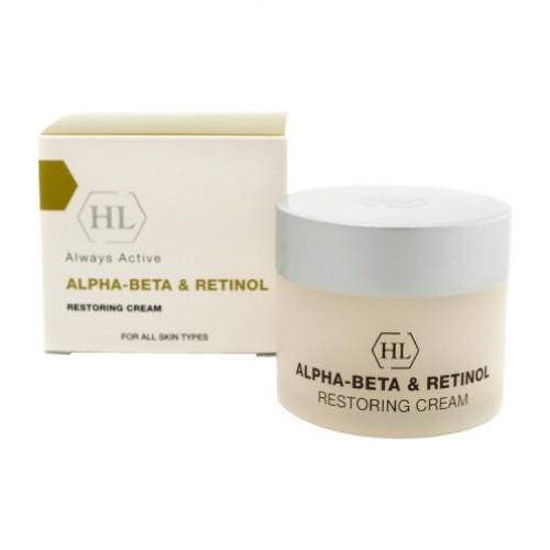 Alpha beta amp; retinol restoring cream