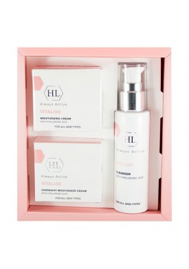 Набор (Vitalise | Cleanser, Day Cream, Overnight Cream) 160099 1 шт