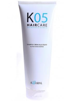 Специализированный трихологический крем-шампунь на основе серы (K05 | Shampoo Sulfur Cream) 1049 200 мл