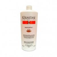 Шампунь-ванна для нормальных и слегка сухих волос Сатин №1 (Nutritive / Bain Satin 1 Irisome) E0843600 1000 мл